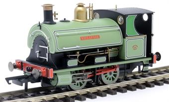 "R3640 Class W4 Peckett 0-4-0ST 882 ""Niclausse"" in Peckett works leaf green"