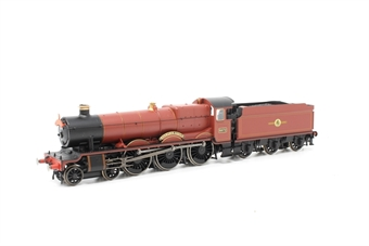 """R3804-PO04 Class 49xx 'Hall' 4-6-0 5972 """"Hogwarts Castle"""" in Hogwarts Railways red - Harry Potter range - Pre-owned - DCC fitted - Very good box"""