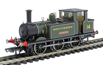 R3847 Class A1X Terrier 0-6-0T 14 'Bembridge' in Southern Railway olive green