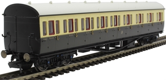 R4875 Collett 57' 'bow ended' non-corridor composite (right-hand) 6362 in GWR chocolate and cream