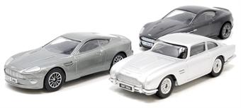 TY99284 James Bond Aston Martin Collection (V12 Vanquish, DB5, DBS)
