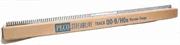 Box of 25 1 yard length of OO9 narrow gauge flexible track with worn wooden sleepers